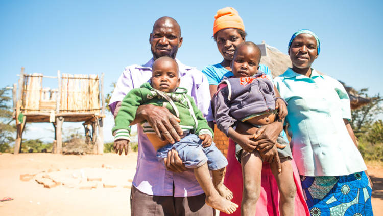 The Mudzemeti family in Zimbabwe