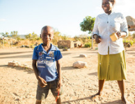Svondo in Zimbabwe can grow up strong thanks to CAFOD-funded nutrition projects