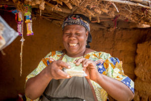 Multi-purpose moringa trees protect soil from the sun, and also can be made in to soap to sell.