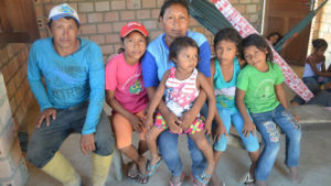 Denislania and his family,. They are part of the indigenous Macuxi tribe in northern Brazil. They won a 30 year legal fight entitling them to stay on their land.