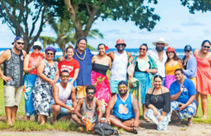Pacific Climate Warriors at a retreat in Samoa