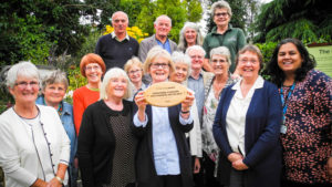Members of St John the Baptist Cathedral parish in Norwich with their livesimply award
