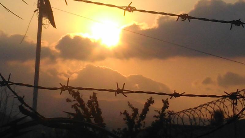 Sunset over San Salvador, capital of El Salvador
