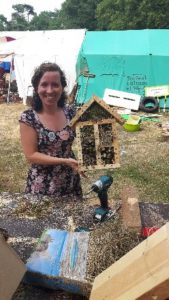 CAFOD Insect house