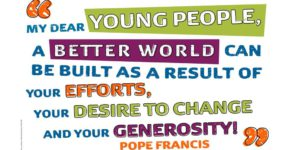Pope Francis' call to young people