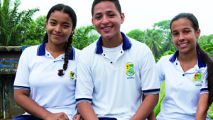 Young leaders in Colombia