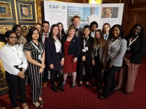 Young leaders at an MPC event