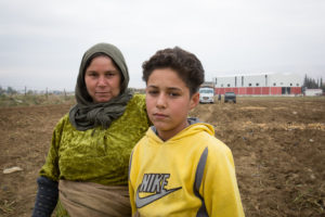 Eight year old Karim, a Syrian refugee.