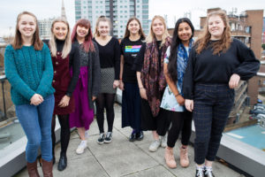 CAFOD's Step into the Gap volunteers