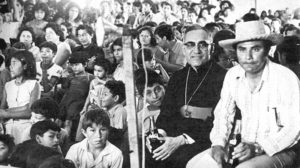 Saint Oscar Romero with his people, September 1978