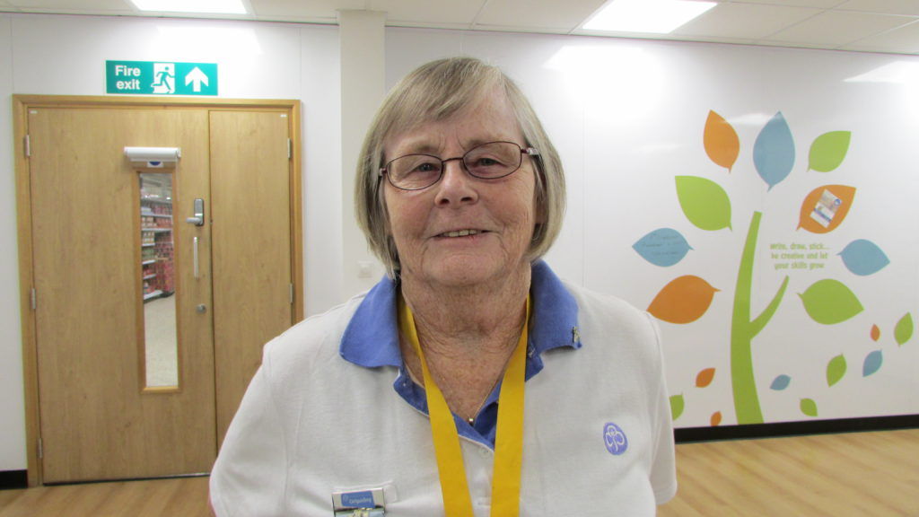 Bea Taylor, a CAFOD volunteer in the Plymouth Diocese.