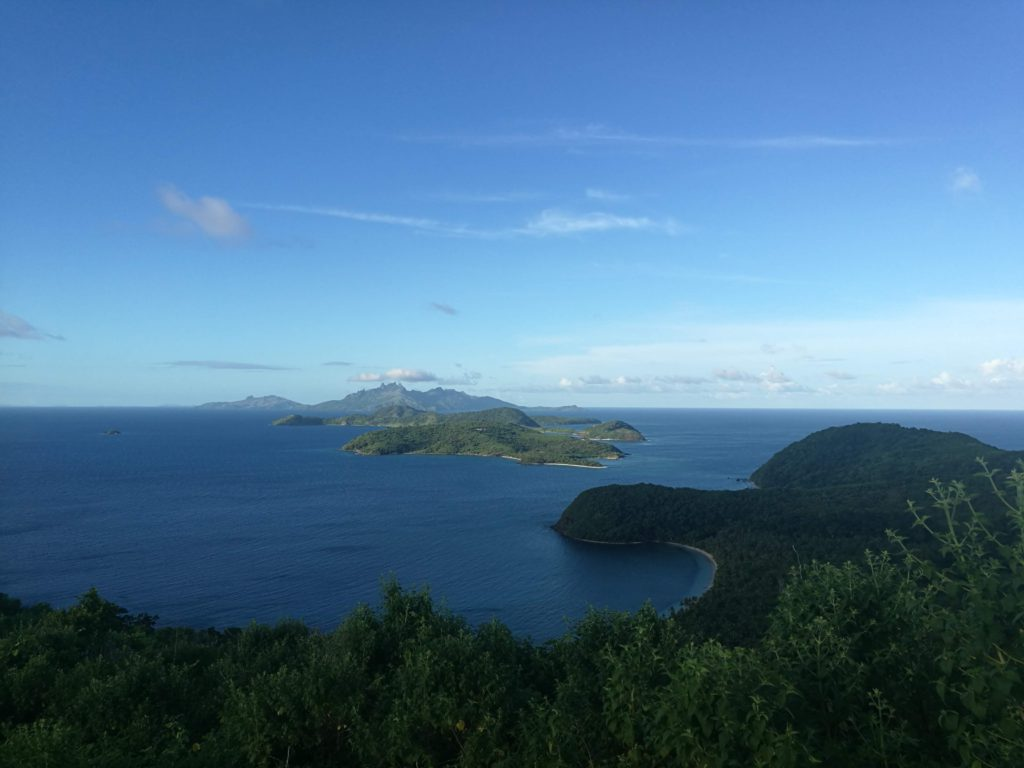 The view from Nakeke point, Fiji.