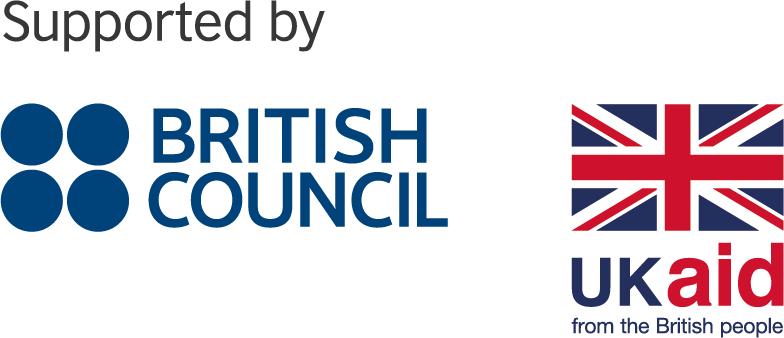 British Council, UK Aid logo