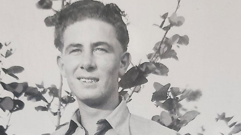 Fred Payne aged 18-19