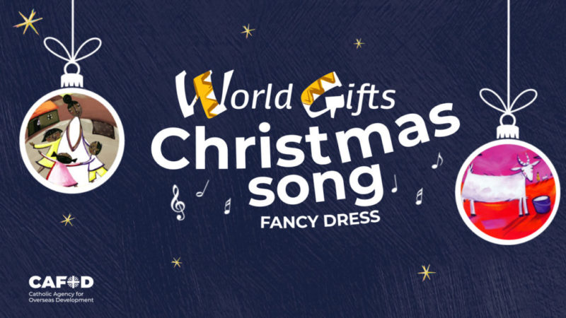 Choose your favourite Christmas carol, get dressed up, and take part in our Christmas Song Fancy Dress Fundraiser.