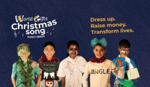 Christmas song fancy dress fundraiser