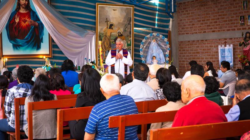 Mass in Peru