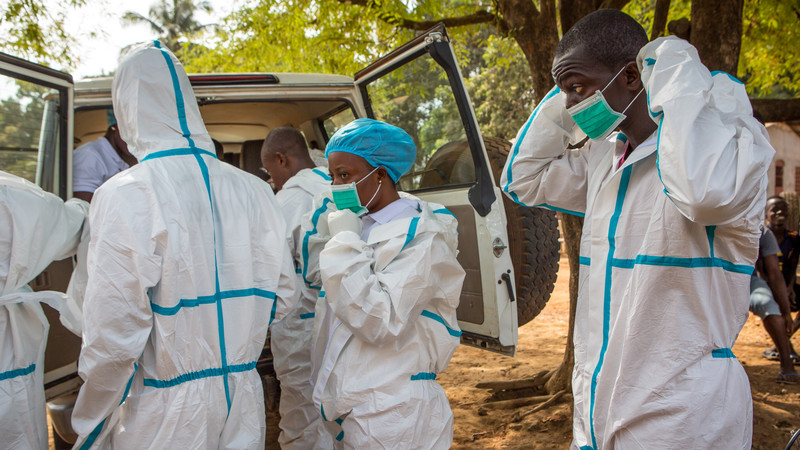 Safe and dignified Ebola burial team in Sierra Leone