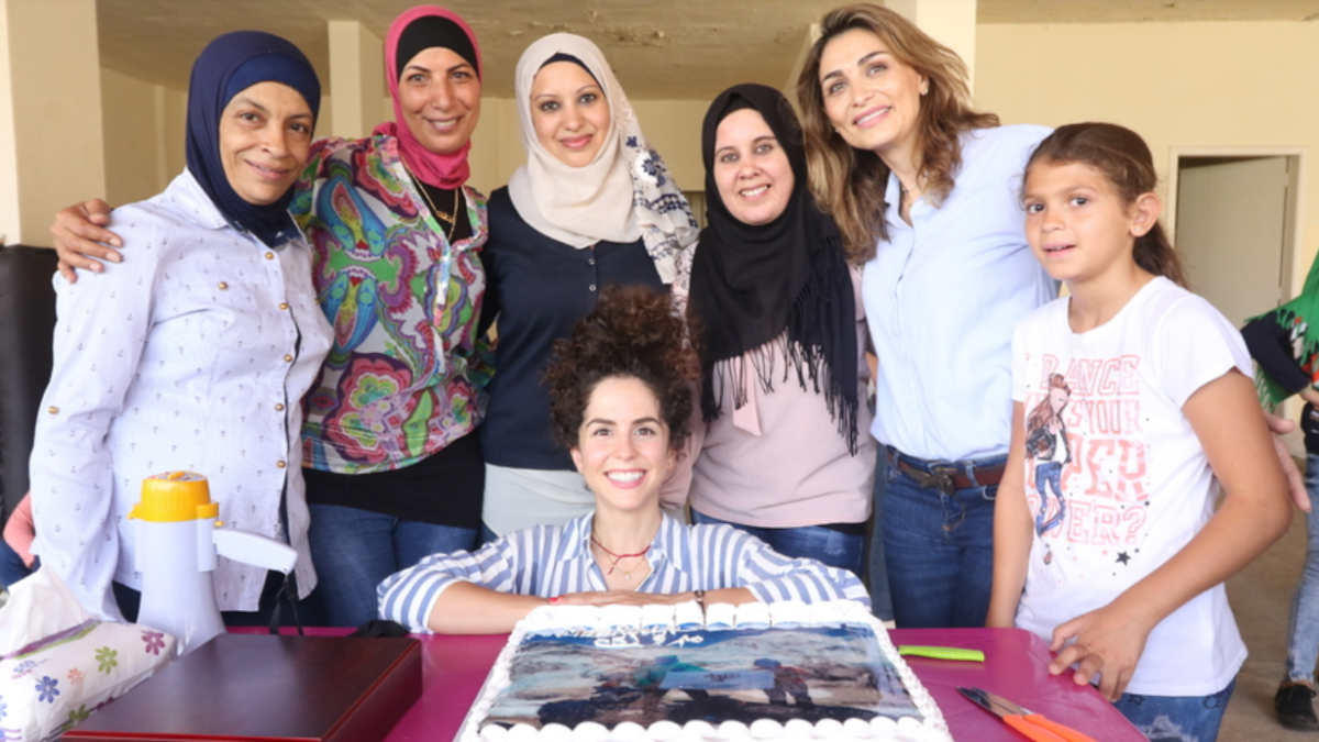 How I'm working alongside Syrian refugees in Lebanon to help them build a better future