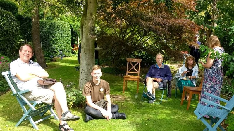 Could you hold your own Summer of Hope garden party?