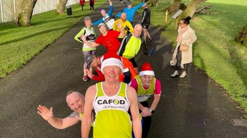 Running off Christmas with CAFOD