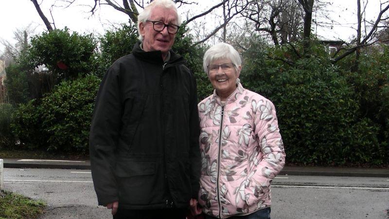 Julia and Ned O'Keefe