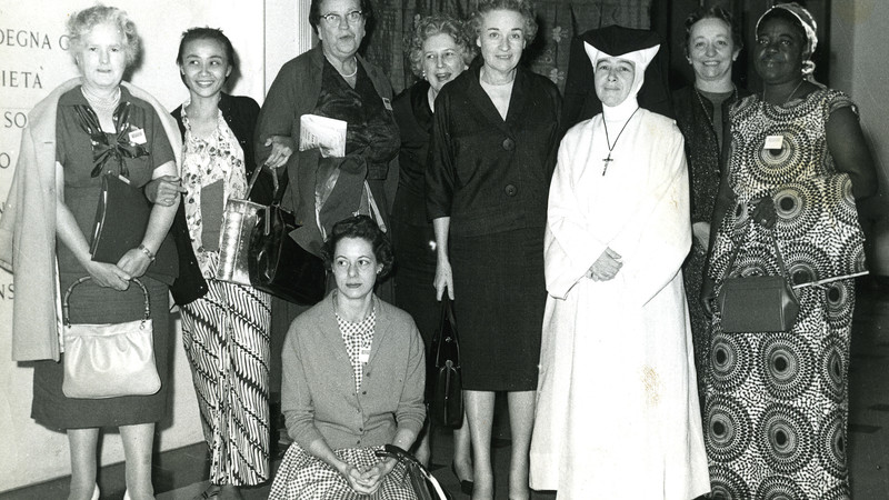 CAFOD's founding women and a nun