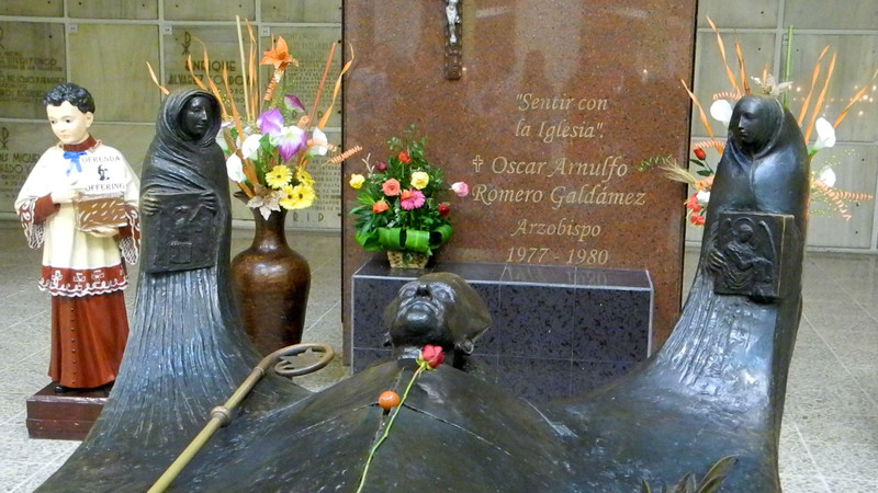 How my visit to Oscar Romero's tomb inspires me every day