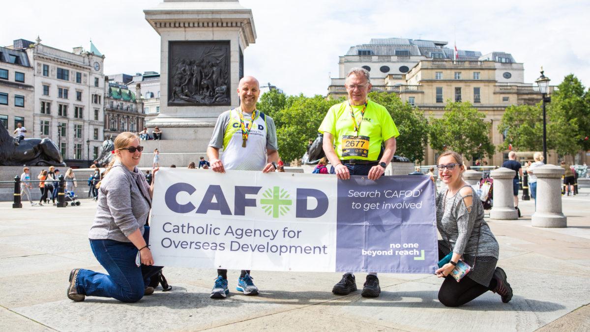 Could you run a half marathon for CAFOD?