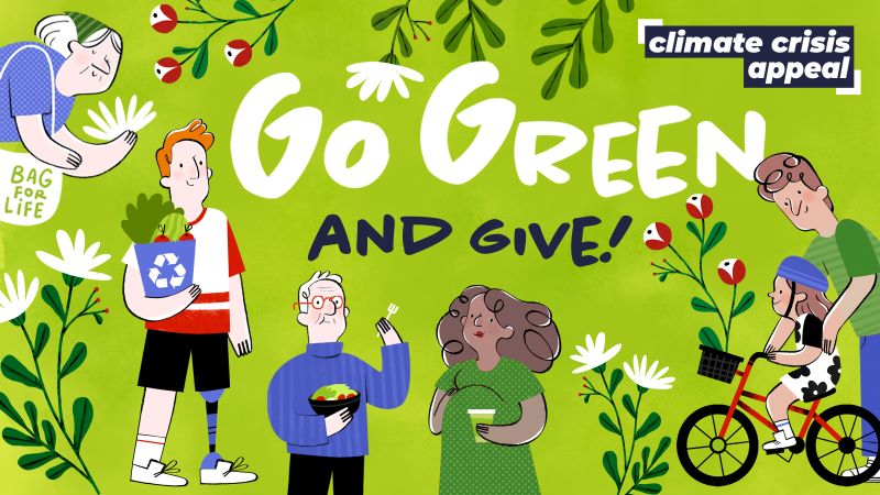 Go Green and Give!