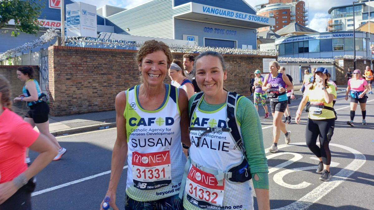 Our magnificent marathon fundraisers explain why they chose to run for CAFOD